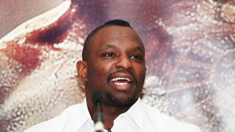 Dillian Whyte has mocked American rival Deontay Wilder