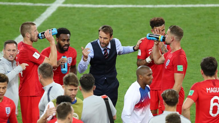 Image result for Southgate has led England to the World Cup quarter-finals