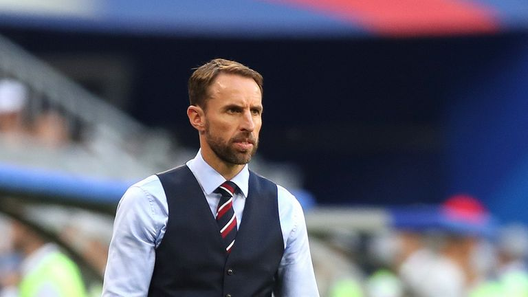 Southgate is pleased with Sterling's contribution this summer