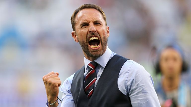 Gareth Southgate looks ahead to England's first World Cup semi-final in 28 years
