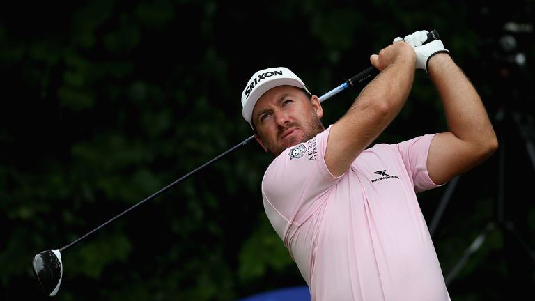 Graeme McDowell secured a top-20 finish