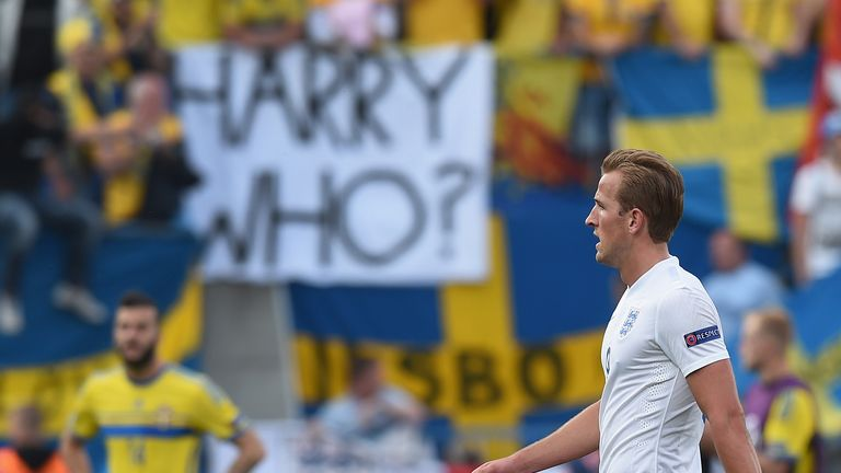 Harry Kane was part of Gareth Southgate's England U21 squad