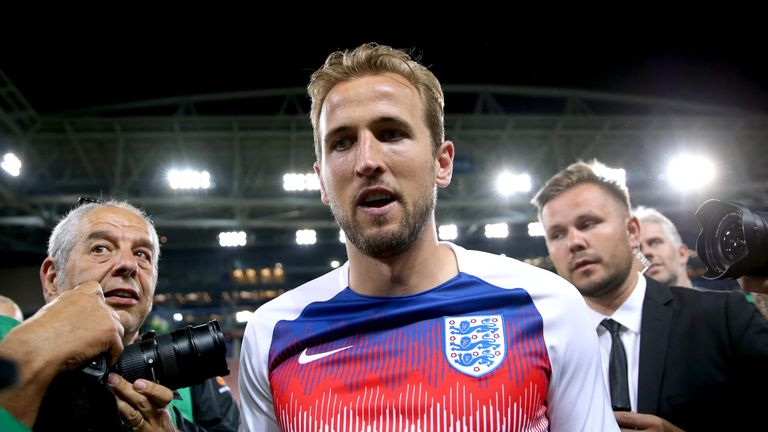 Harry Kane says England's performances in this summer's World Cup have helped improve the team's relationship with the fans
