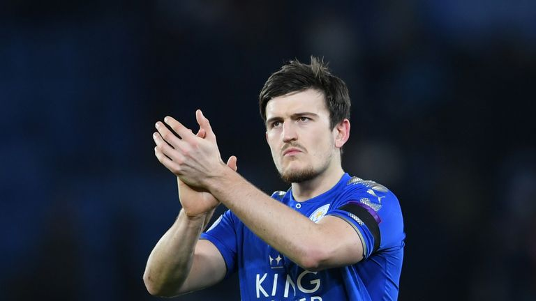 Harry Maguire could be on his way to Old Trafford