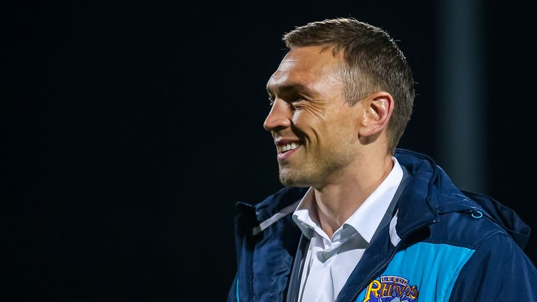 Kevin Sinfield was unveiled as Leeds' new director of rugby at a press conference on Friday