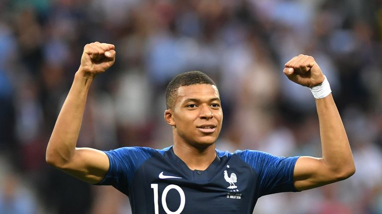 Kylian Mbappe scored in the World Cup final but just fell short of Kane