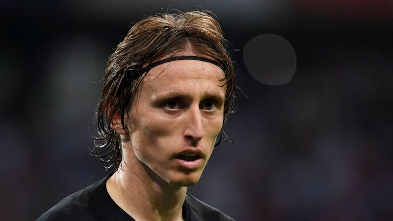 Luka Modric reached the World Cup final with Croatia this summer