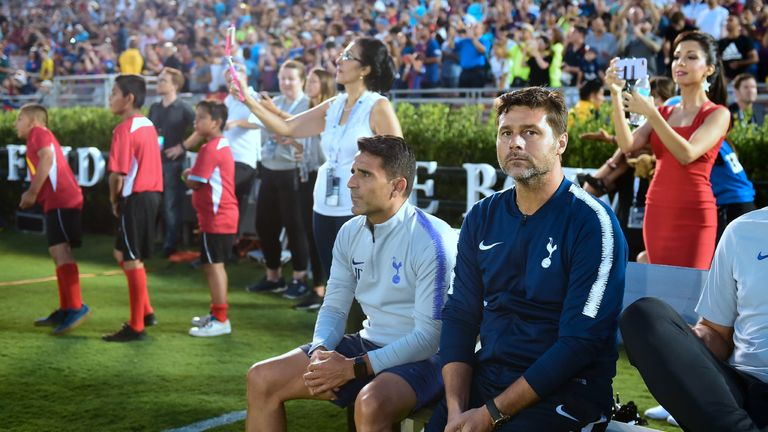 Pochettino is without nine first-teamers in the United States