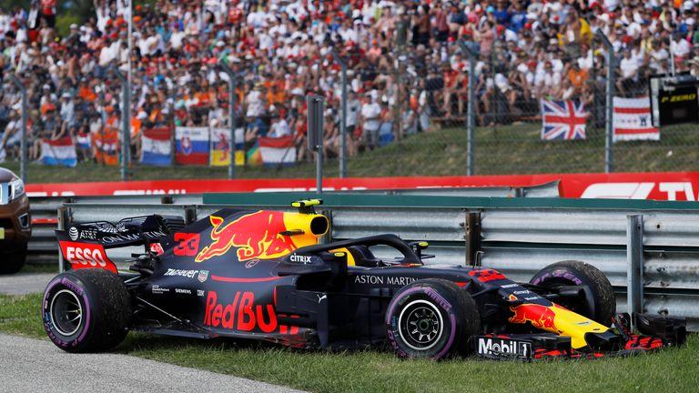 Max Verstappen wycofuje się z GP Węgier na 6 okrążeniu