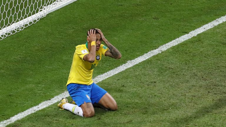 Neymar's Brazil exited at the quarter-final stage