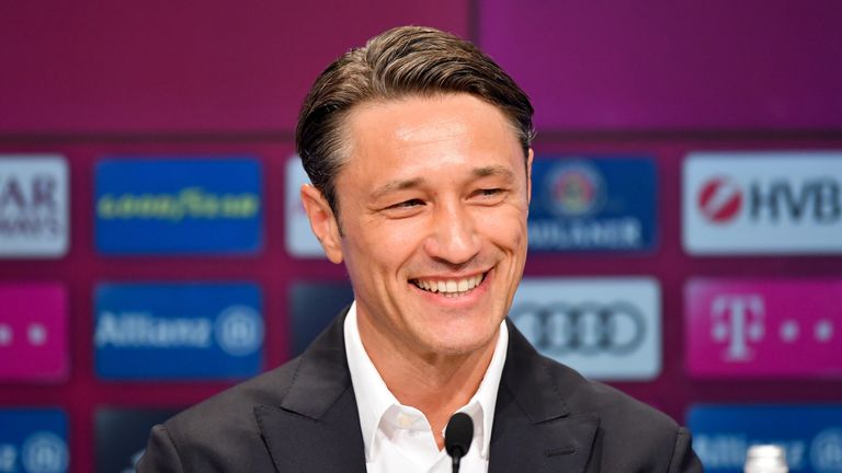 Kovac's final game in charge of Frankfurt before joining Bayern was a 3-1 win in the German Cup final against his new employers