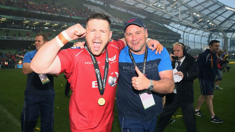 Pivac's Scarlets played some breathtaking rugby on their way to the 2017 PRO12 title