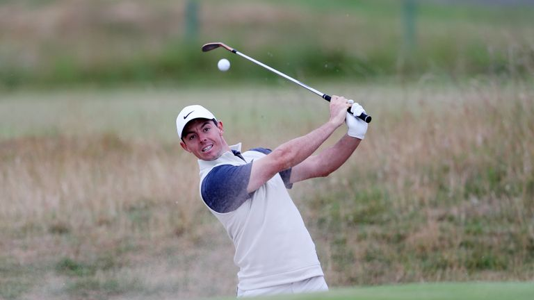 Kevin Kisner is a surprise early leader at the British Open