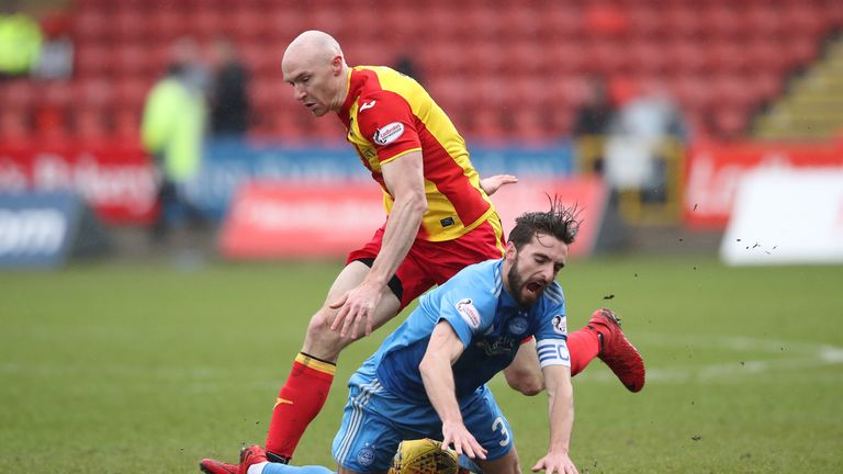 Conor Sammon spent last season on loan at Partick Thistle
