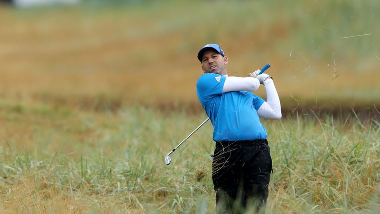 Sergio Garcia looked set to scrape into the weekend until a late mistake at 16