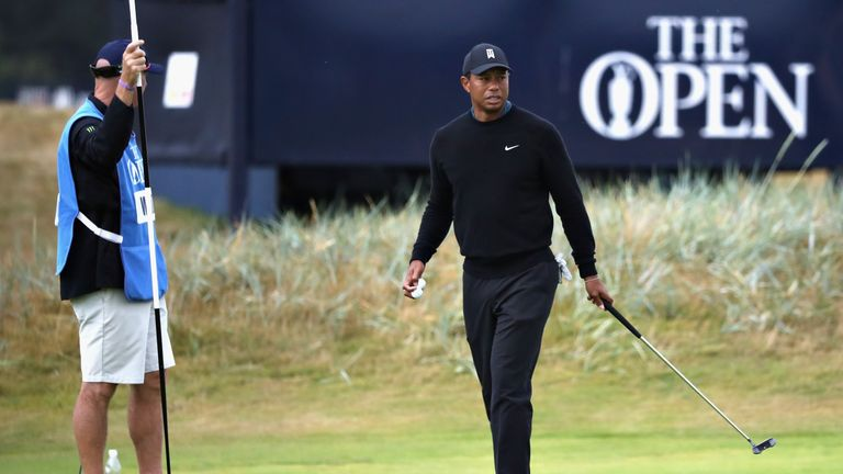 Woods is chasing a first worldwide win since 2013