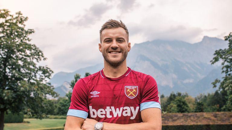 Andriy Yarmolenko has joined West Ham (Credit: WHUFC.com)