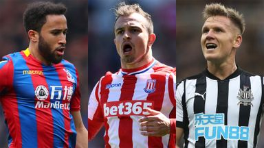 Xherdan Shaqiri's move to Liverpool could trigger deals for  Andros Townsend and Matt Ritchie