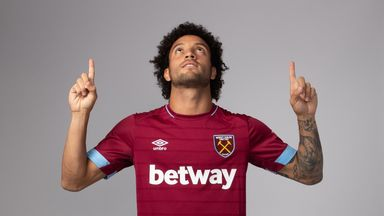 Felipe Anderson has joined West Ham on a four-year deal from Lazio for a club-record fee (Credit: WHUFC.com)