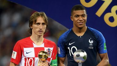 fifa live scores - Luka Modric, Kylian Mbappe, Thibaut Courtois honoured at World Cup