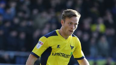 Todd Kane had a loan spell Oxford United last season