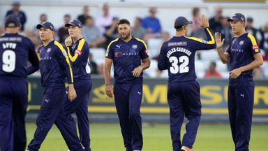 Tim Bresnan took three wickets in Yorkshire