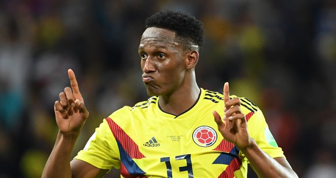 Yerry Mina Having Everton Medical as Transfer Deadline Approaches