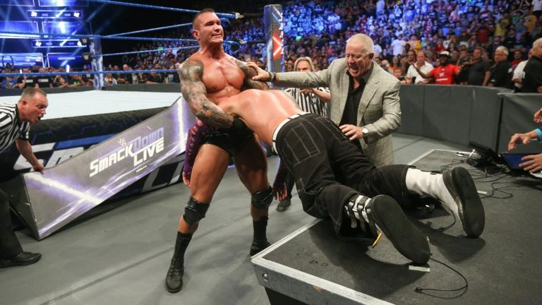 Randy Orton has offered no explanation for his recent attacks on Jeff Hardy