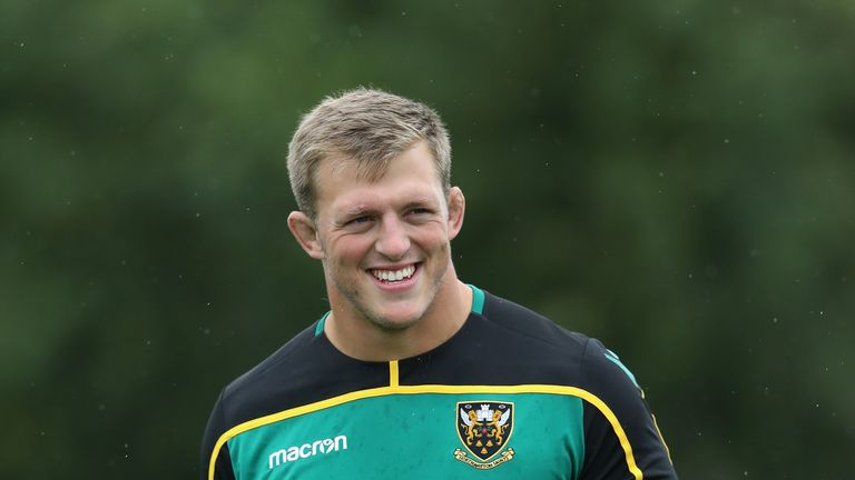 Alex Waller will share captaincy duties with Hartley