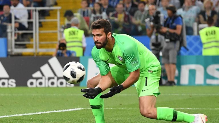 debut pertama alisson becker