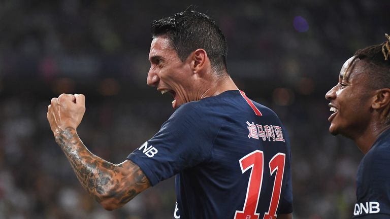 Di Maria scored in PSG's win
