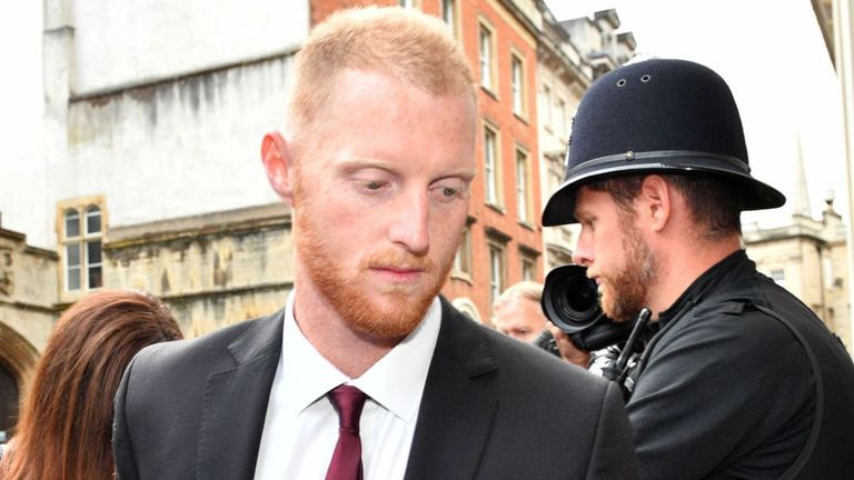 England Star Ben Stokes Trial Shown 'Groin Grab' Video
