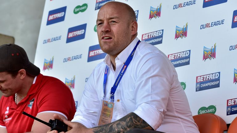 Danny Ward's side face Leeds Rhinos next in the Super 8s Qualifiers