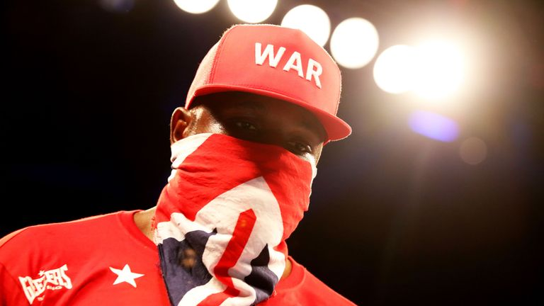 Dereck Chisora says Dillian Whyte stopped him from issuing a rematch challenge at The O2