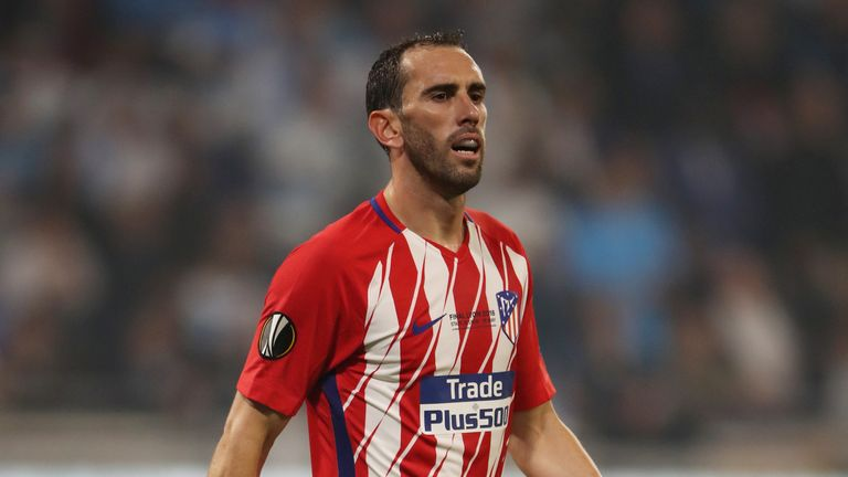 Diego Godin has made over 300 appearances for Atletico Madrid