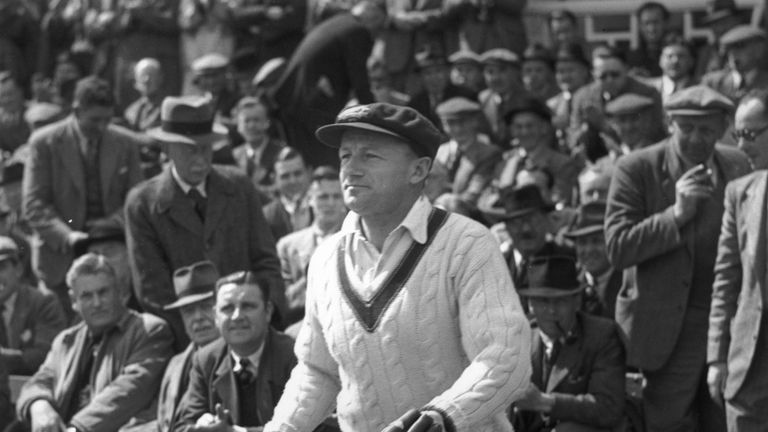Bradman led Australia to victory in the 1936-37 Ashes series after coming from 2-0 down