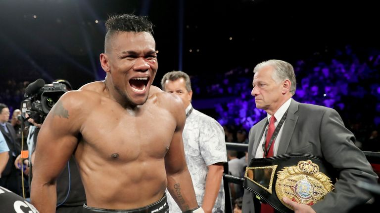 Eleider Alvarez is the new WBO light heavyweight champion