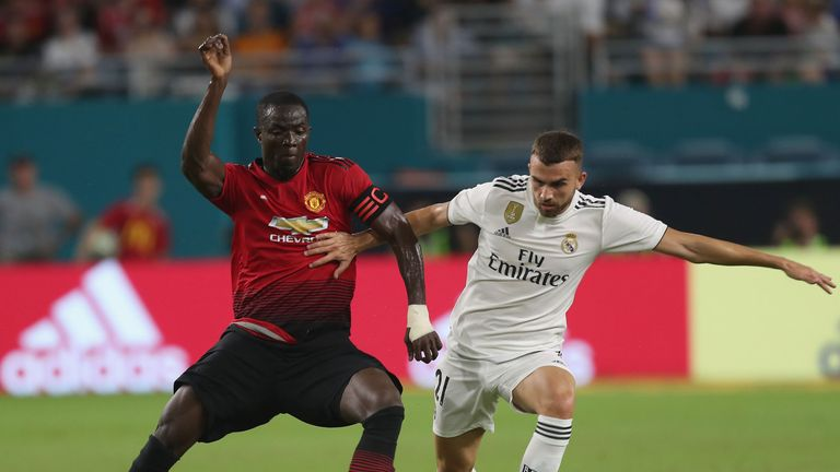 Eric Bailly will be assessed for an ankle injury ahead of the league opener