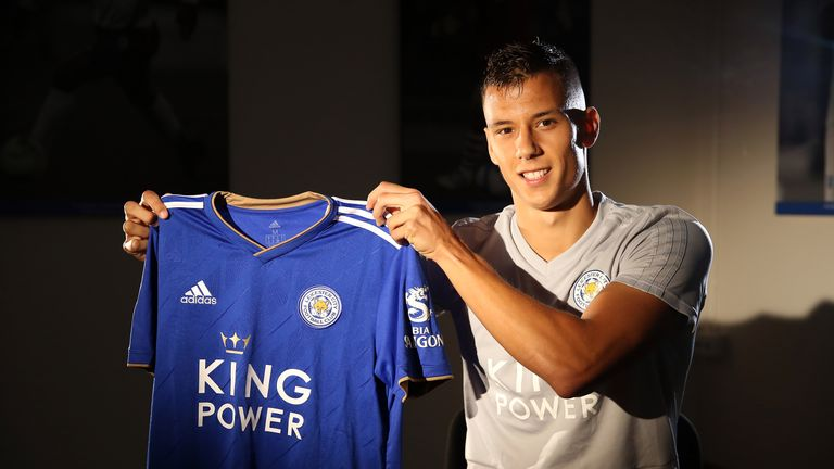 Filip Benkovic is Leicester's first signing of Deadline Day