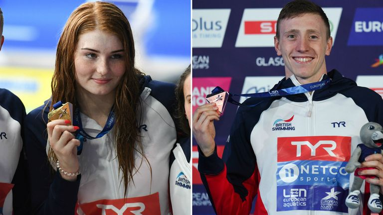 Freya Anderson and Max Litchfield enjoyed a stunning night in Glasgow