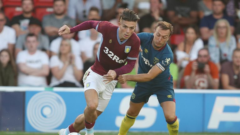 Aston Villa boss Bruce insists Tottenham 'nowhere near' Grealish valuation