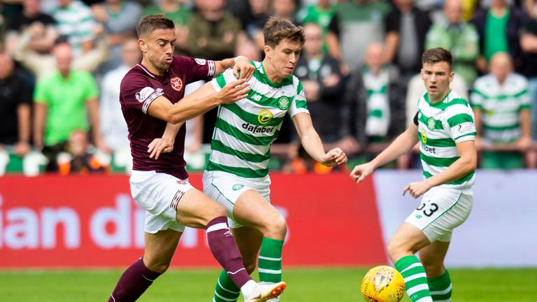Celtic were beaten 1-0 by Hearts on Saturday