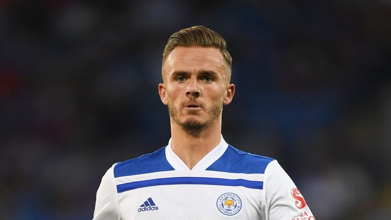 James Maddison is expected to shake off a knock to make his competitive debut