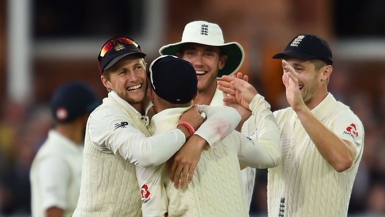England four wickets away from win at Lord's