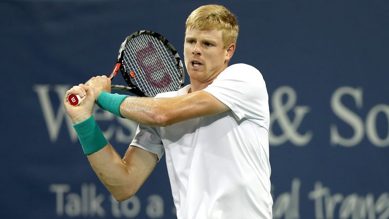 Kyle Edmund out of Cincinnati Masters after defeat to Denis Shapovalov