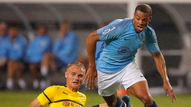 Preston secure transfer deadline day signing of Manchester City striker Lukas Nmecha