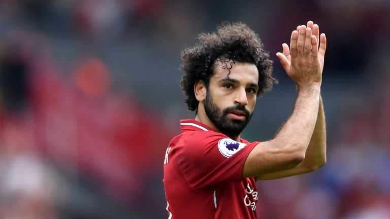 Mohamed Salah scored 32 Premier League goals last season