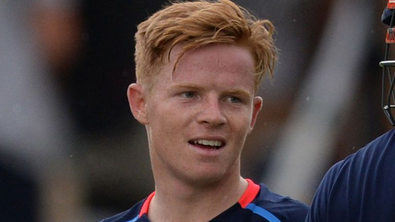 England's Ollie Pope during nets ahead of the second Test against India