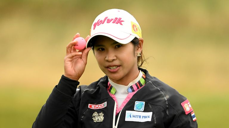 Mamiko Higa falls into fourth place at Women's British Open