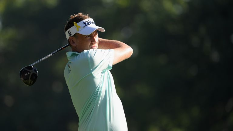 Ian Poulter fired a three-under 67 despite only one practice day